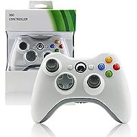 Controle Sem Fio Para Xbox 360 Joystick Wireless Branco