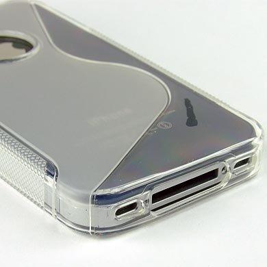 ABZ-S Rückschale für iPhone 4S, iPhone 4 - transparent
