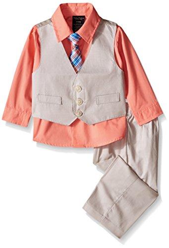 nautica-baby-texture-vest-set-camellia-3-6-months