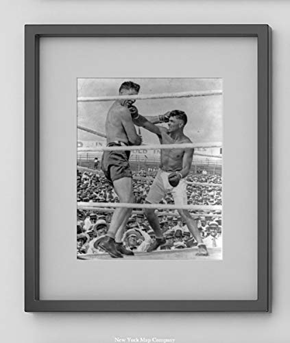"""""""The knockout blow"""" 1919 Photograph shows Jack Dempsey for sale  Delivered anywhere in USA"""