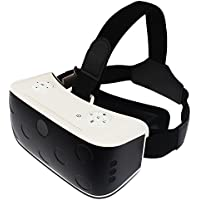 Galaxia All in One VR 3D Glass Virtual Reality Headset With Android 5.1 WiFi Bluetooth 1080P , Support for Youtube Putao Game Personal Theater  Movie(Phone No Needed,1 Year Warranty)