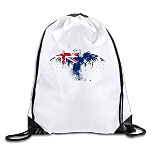 AGOGO Australia Eagle Drawstring Backpack Bag