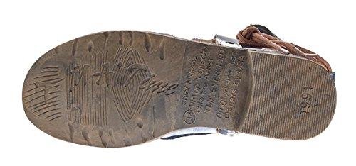 Dames Comfortabele Lederen Enkellaarsjes Tma 5161 Laarzen Zwart Groen Wit Enkellaars Rode Schoenen Blauw