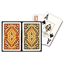 Kem Paisley Plastic Playing cards 2Deck Set Bridge Size Choose from Jumbo or Regular Index