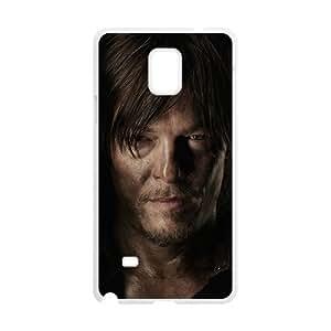Walking Dead Pattern Plastic Case For Samsung Galaxy Note4 WANGJING JINDA