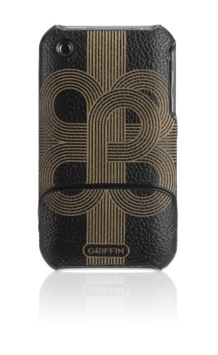Griffin Elan Form Etch for iPhone 3G/3GS - Black/Tan