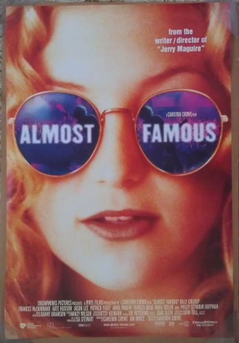 Almost Famous Movie Poster 2 Sided Original Kate Hudson