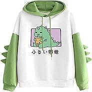 Tophoopp Hoodies for Women,Womens Lightweight Frog Cute Hoodie Pullover Color Printed Sweatshirts Kawaii Carto