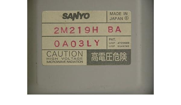 Nieuw Universal Microwave Magnetron Part Number: sanyo 2M2169H BA IX-54