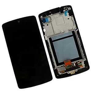 NIUTOP® LG D821 / D820 Nexus 5 LCD + Touch pantalla digitalizador completa cubierta frontal, 100% Original, nuevo reemplazo LCD pantalla completa, LG parte no: ACQ86661402