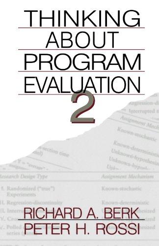 Thinking about Program Evaluation 2