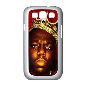 Custom Hard Protective Cover Case for Samsung Galaxy S3 I9300 Phone Case - Biggie Smalls HX-MI-065034
