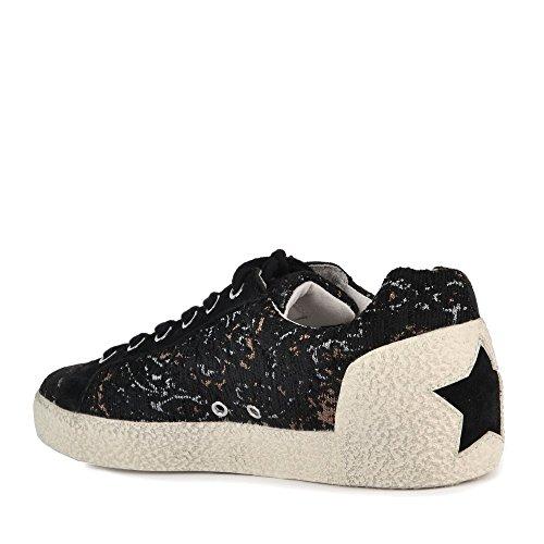 Cenere Scarpe Sneaker Nymphea Nero Donna Nero