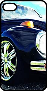 Classic VW Bug Close Up Black Rubber Case for Apple iPhone 5 or iPhone 5s