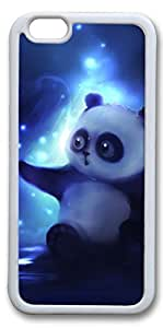 iPhone 6 Cases, Personalized Protective Case for New iPhone 6 Soft TPU White Edge Little Pander by mcsharks