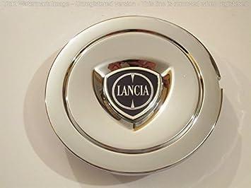 Tapacubos de aleación con escudo original de Lancia: Amazon.es: Coche y moto