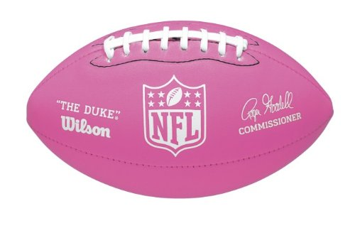 Wilson Mini Soft Touch Nfl Football (Pink) -
