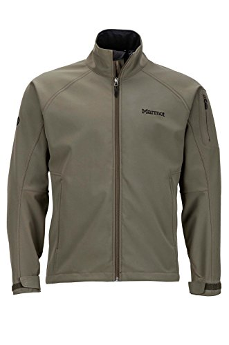 Marmot Gravity Men's Softshell Windbreaker Jacket, Deep Olive, Large
