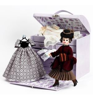 cómodo Madame Alexander Little mujer Beth's Doll Trunk Set Set Set by Alexander Doll  tiendas minoristas