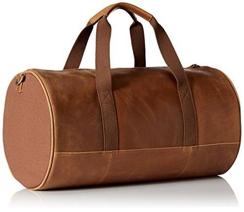 7ba66f7f4f9 Timberland Men s Tuckerman Leather Duffel, Cognac  Amazon.co.uk  Clothing