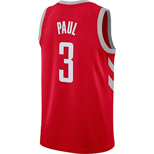 (Men's/Youth_Chris_Paul_#3_Basketball_Fans_Jerseys_Youth_Red_Game_Jersey )