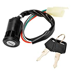 4 Pin Ignition Key Switch 4 Wire for Sun...