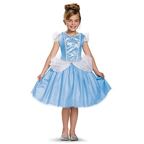 Cinderella Classic Disney Princess Cinderella Costume, Medium/7-8 -