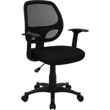 Comfortable Mesh Back Executive Computer Desk Chair, A Modern Home and Office Furniture featuring Locking Tilt, Full Swivel, and Adjustable Height in Ergonomic Design (24.00 x 21.00 x 39.00 Inches) by FF