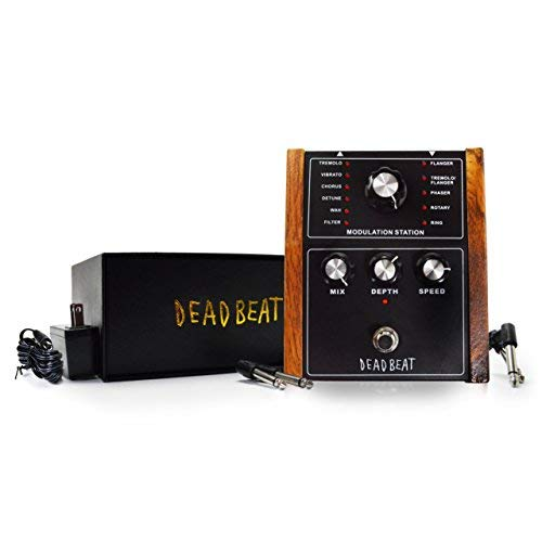 MODULATION STATION Multi Effects Pedal by Deadbeat Sound (Best Synth Pedal Guitar)
