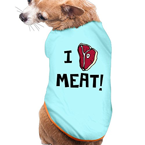 [I Heart Meat Dog Shirt Dog Costumes Dog Sweaters For Puppies] (Monster High Wisp Costume)