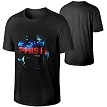 Man's Phish A Live One Red Includes Download Fashionable Hip Pop Music Band Short Sleeves T Shirt Gift