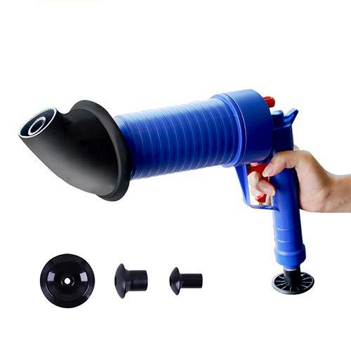 Haute Pression Air Drain Blaster Toilette Nettoyeur Égout Filtre Évier Pipe Outils À Main Plongeur Cheveux Enlever Cuisine Nettoyant Kit RSGK