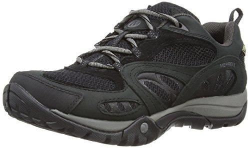 Merrell WoMen Azura Gore-Tex Low Rise Hiking Boots Black/Carbon