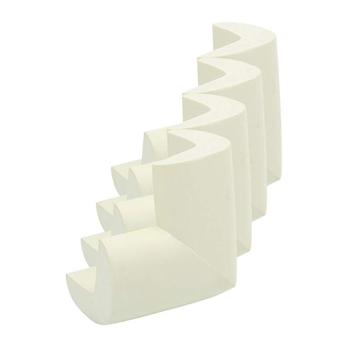 Beige YOFASEN Protectores de Bordes y Esquinas de Seguridad para Beb/és Productos de Seguridad Suaves y Gruesos para Ni/ños Protecci/ón de Muebles de Esquinas de Mesa 4 piezas