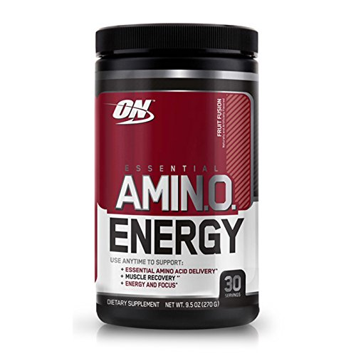 Optimum Nutrition Amino Energy Compex of Amino Acids Pre Workout (Fruit Fusion) by O&N