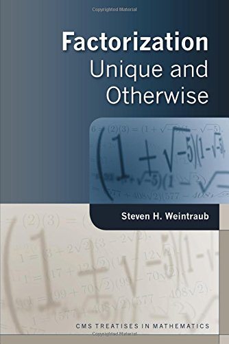 Factorization: Unique and Otherwise (CMS Treatises in Mathematics)