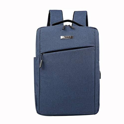Hot sales NRUTUP Women Men Ladies Girl Solid Business ShoulderBackpack With USB Interface Bag (Keen Tote Bag)