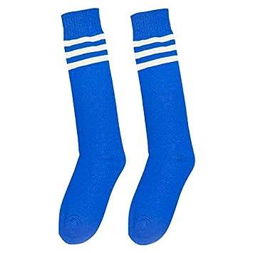 ccbf8029e24a55 YideaHome サッカーソックス サッカーストッキング 靴下 ソックス メンズ レディース 3本ラインサッカーストッキング 吸汗速