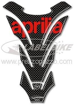 Protector de Depósito Adhesivos 3D Carbono Protector de Depósito para Moto Aprilia Rojo: Amazon.es: Coche y moto