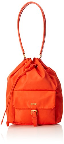 23 Nylon 15 Coralle Bree Bag Barcelona cm Orange Shoulder PgqxxX4