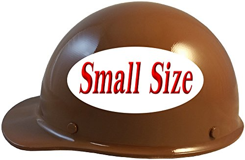 MSA Skullgard (SMALL SIZE) Cap Style Hard Hats with Ratchet Suspension - Natural Tan by MSA (Image #2)