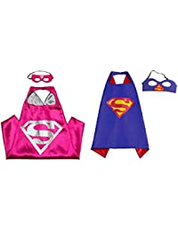 Superhero Capes and Masks - Kids Size by
