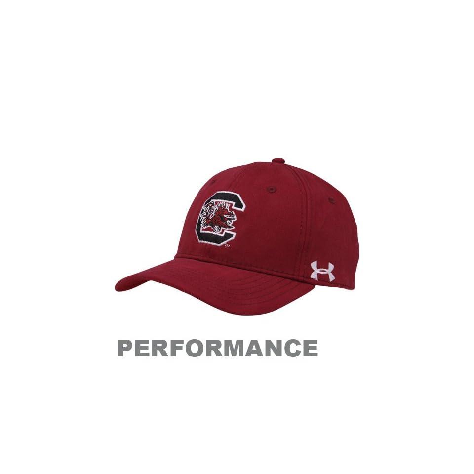 Under Armour South Carolina Gamecocks Garnet In Training Performance Adjustable Hat