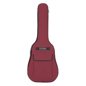 Funda de guitarra de 41 pulgadas, multicolor, impermeable, bolsa ...