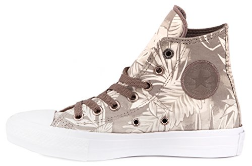 Converse Chuck Taylor All Star II High Zapatos de Mujer Sneaker Beige/Verde,38