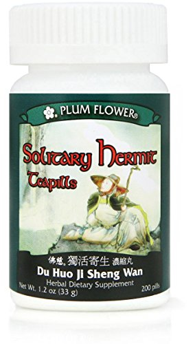 Solitary Hermit (Du Huo Ji Sheng Wan), 200 ct, Plum Flower