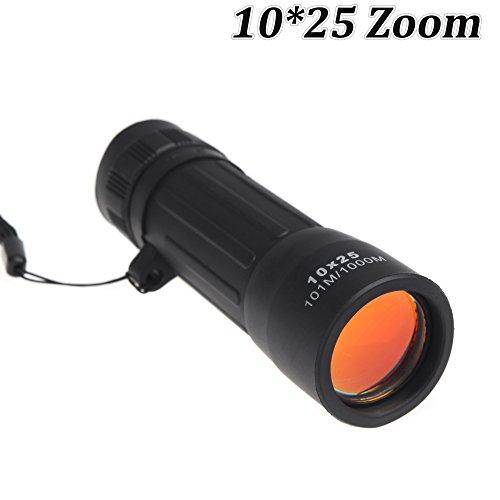 oxita (TM) portable 10* * * * * * * * 25télescope monoculaire Compact Scope spoting Scope pour Voyage Randonnée Camping Sport chasse