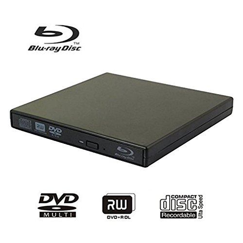 External blu-ray disc drive, USB portable DVD burner,BD-ROM,DVD/CD-RW/ROM Writer/Player,Support xp/win/Linux system related desktop, notebook, etc (black) by tengertang (Image #7)'