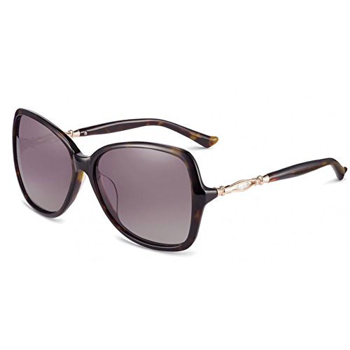 Women's Glasses Rita H Full Rim Frame Polarized Lenses Sunglasses (Panther Mirror - - Pink Sunglasses Panther