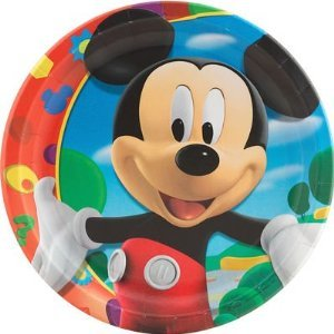 Mickey Mouse Dinner Plates 8ct
